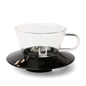 Kalita Wave Dripper 155 Glass (Black)