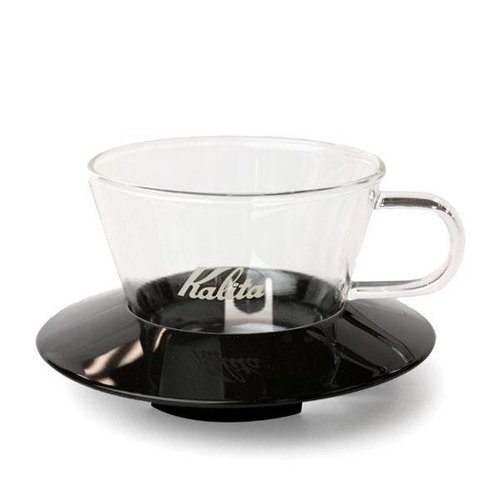 Kalita Wave Dripper 155 Glas (Zwart)