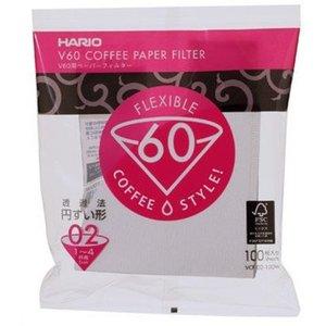 Hario V60 Filters 02 White - VCF-02 (100 Stuks)