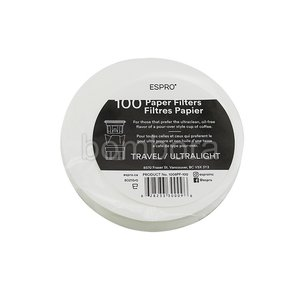 Espro Coffee Paper Filter Coffee P0/P1 (100 Stuks)