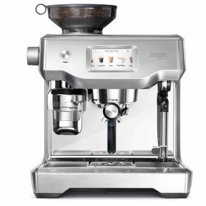 Sage The Oracle Touch (Brushed Stainless Steel) + Free Barista Package worth € 200,-