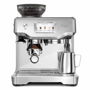 Sage The Barista Touch (Brushed Stainless Steel) Incl. 2kg koffie t.w.v. 50 euro
