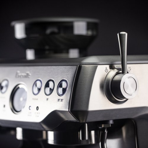 Crema Steam Lever (Brushed Silver)