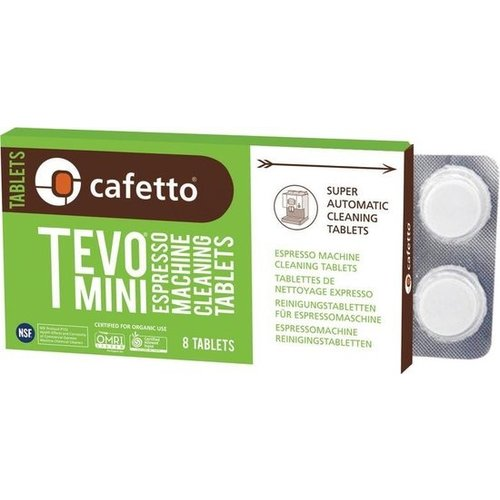 Cafetto TEVO Organic Mini Blister (8 tablets)