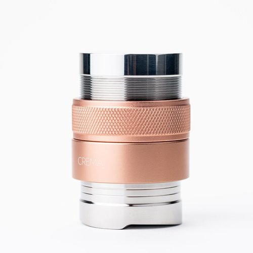 Crema Tamper & Distributor Combo 45.5mm for Flair™ (Rose Gold)