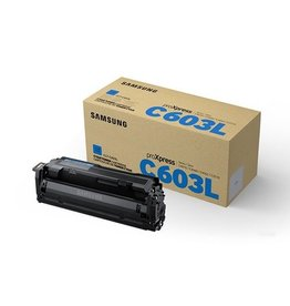 Samsung Samsung CLT-C603L (SU080A) toner cyan 10K (original)