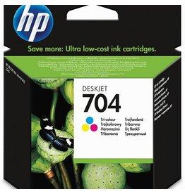 Hewlett Packard HP 704 (CN693AE) ink cyan/magenta/yellow 200p (original)
