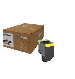 Ecotone Lexmark 70C0X40 toner yellow 4000 pages (Ecotone)