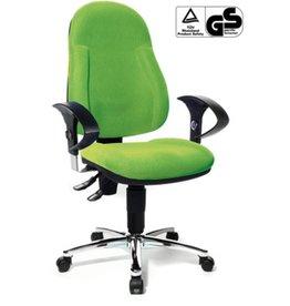 TOPSTAR Bürodrehstuhl Wellpoint de Luxe, grün