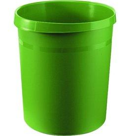 HAN Papierkorb GRIP, PP, rund, 18l, 312x345mm, grün