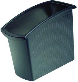 HAN Papierkorb MONDO, PP, 18l, 194x450x345mm, schwarz