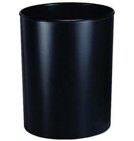 HAN Papierkorb se, schwer entflammbar, m.Alueinsatz, 13l, 240x300mm, sw