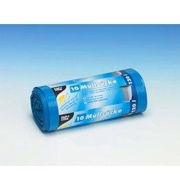 PAPSTAR Müllsack, LDPE, 0,043mm, 120l, 700x1.100mm, blau
