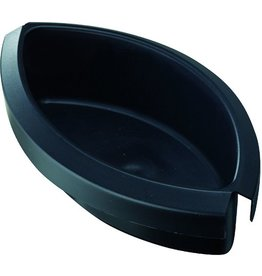 HAN Abfalleinsatz, Kunststoff, ohne Deckel, 1 l, schwarz
