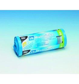 PAPSTAR Müllsack, LDPE, 0,043mm, 60l, 600x850mm, blau