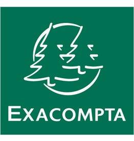 EXACOMPTA Papierkorb, eckig, 17 l, lichtgrau