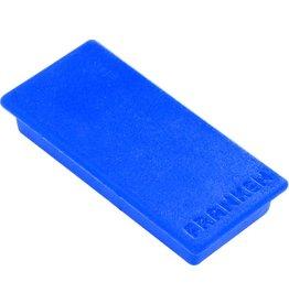 FRANKEN Magnet, rechteckig, 23 x 50 mm, Haftkraft: 1.000 g, blau