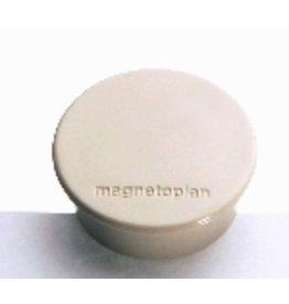 magnetoplan Magnet Discofix standard, Ø: 30mm, 8mm, Haftkraft: 700g, weiß