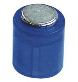 Laurel Magnet POWER, Zylinder, rund, Ø: 14 mm, Haftkraft: 1.900 g, blau