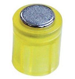 Laurel Magnet POWER, Zylinder, rund, Ø: 14 mm, Haftkraft: 1.900 g, gelb