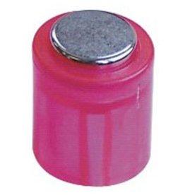 Laurel Magnet POWER, Zylinder, rund, Ø: 14 mm, Haftkraft: 1.900 g, rosa