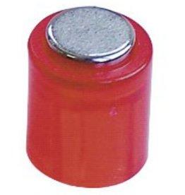 Laurel Magnet POWER, Zylinder, rund, Ø: 14 mm, Haftkraft: 1.900 g, rot