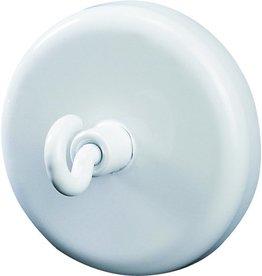 DAHLE Magnet, mit Haken, rund, Ø: 47mm, Haftkraft: 15.000g, weiß [5st]