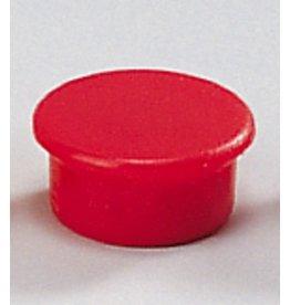 DAHLE Magnet, rund, Ø: 13 mm, Haftkraft: 100 g, rot [10st]