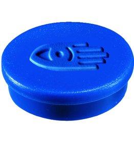 Legamaster Magnet, rund, Ø: 20 mm, Haftkraft: 250 g, blau