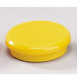 DAHLE Magnet, rund, Ø: 24 mm, Haftkraft: 300 g, gelb [10st]