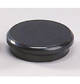 DAHLE Magnet, rund, Ø: 24 mm, Haftkraft: 300 g, schwarz [10st]