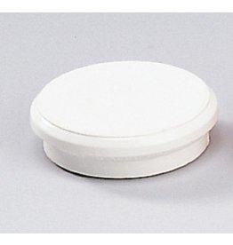 DAHLE Magnet, rund, Ø: 24 mm, Haftkraft: 300 g, weiß [10st]