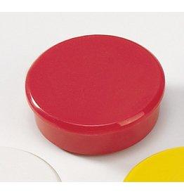 DAHLE Magnet, rund, Ø: 38 mm, Haftkraft: 2.500 g, rot [10st]