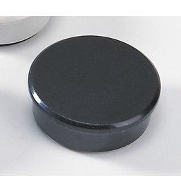 DAHLE Magnet, rund, Ø: 38 mm, Haftkraft: 2.500 g, schwarz [10st]