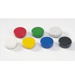 DAHLE Magnet, rund, Ø: 38 mm, Haftkraft: 2.500 g, sortiert [10st]