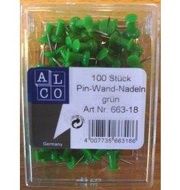 ALCO Pinnnadel, Diabolokopf, dunkelgrün