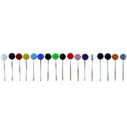 ALCO Pinnnadel, Kopf: 5 mm, Gesamtlänge: 16 mm, farblos