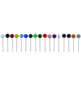 ALCO Pinnnadel, Kopf: 5 mm, Gesamtlänge: 16 mm, sortiert