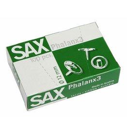 SAX Reißnagel Phalanx, metallüberzogen, Kopf: 12 mm