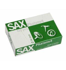 SAX Reißnagel Phalanx, metallüberzogen, Kopf: 14 mm