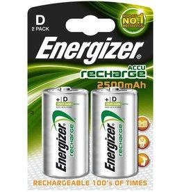 Energizer Akku, NiMH, Mono, D, HR20, 1,2V, 2.500mAh