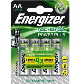 Energizer Akku, POWER PLUS, NiMH, Mignon, AA, HR6, 1,2 V, 2.000 mAh