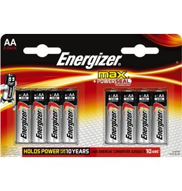 Energizer Batterie, max + POWERSEAL, Mignon, AA, LR6, 1,5 V