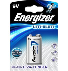 Energizer Batterie, Ultimate LITHIUM, E-Block, 6LR61, 9V