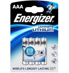 Energizer Batterie, Ultimate LITHIUM, Micro, AAA, LR03, 1,5V