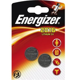 Energizer Knopfzelle, Lithium, Knopfzelle, CR2016, CR2016, 3 V, 90 mAh