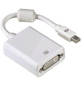 hama Adapter, mini-DP/DVI-D - Stecker/Buchse, weiß