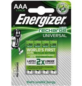 Energizer Akku UNIVERSAL, Nickel-Metallhydrid, Micro, AAA, LR03, 500 mAh