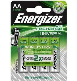 Energizer Akku UNIVERSAL, Nickel-Metallhydrid, Mignon, AA, LR6, 1.300 mAh