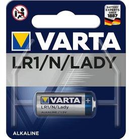 VARTA Batterie, Electronics, Lady, N, LR1, MN9100, 1,5 V, 880 mAh